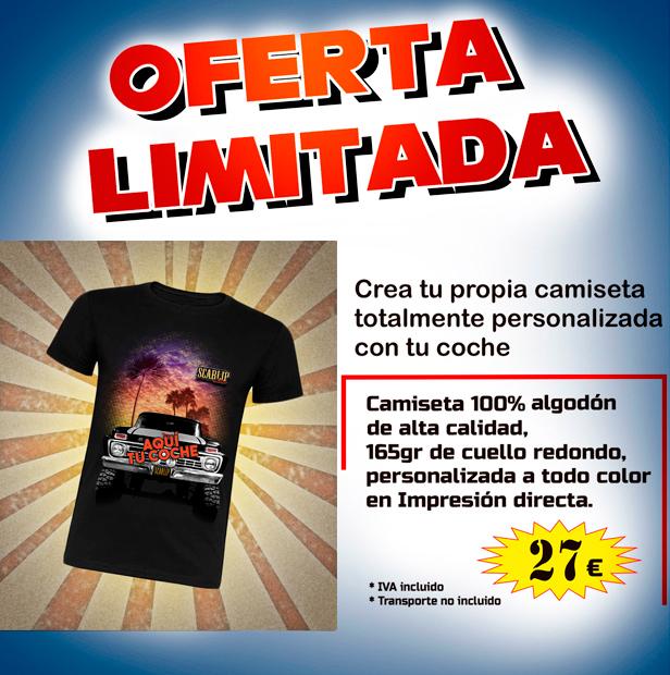 Camisetas personalizadas oferta